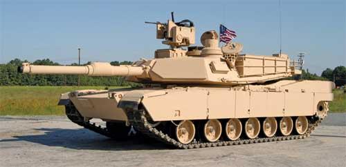 M1A1 Abrams dengan M153 Protector.