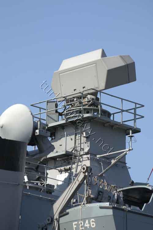 Smart-S MK2 di kapal perang mlik AL Turki.