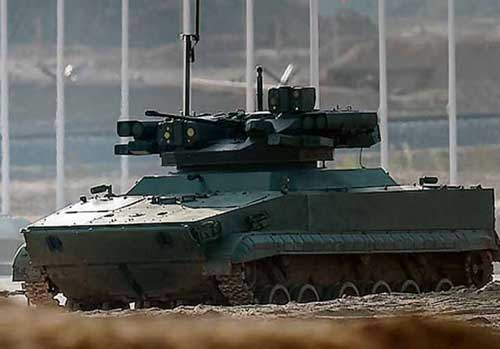 UDAR_UCGV_unmanned_combat_ground_vehicle_BMP-3_infantry_fighting_vehicle_Russia_Russian_defense_industry_003