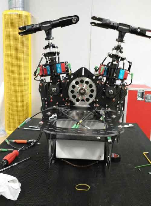 Konfigurasi mesin SDO 50V2.