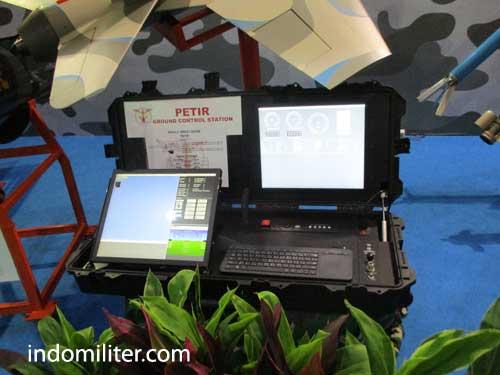 Perangkat GCS (Ground Control Station) drone Petir.