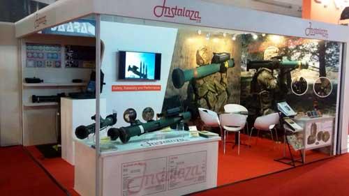 Stand Instalaza SA di Indo Defence 2014
