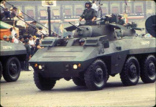 M8 Greyhound yang sudah dimodifikasi milik AD Brasil.