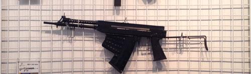 SSBA dengan model popor lipat keatas khas AK-47