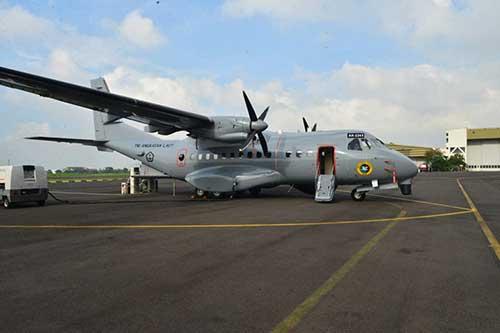 TNI AL Resmi Terima Lima Helikopter AKS dan Satu Unit CN235-220 MPA Buatan Anak Bangsa